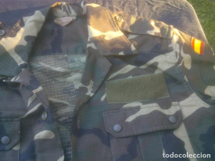 Militaria: CAMISA CAMPAÑA MANGA CORTA BOSCOSO . EJERCITO ESPAÑOL TALLA 3 NUEVA. - Foto 2 - 213672797