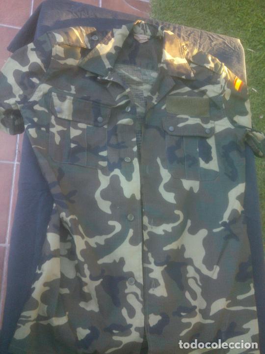 CAMISA CAMPAÑA MANGA CORTA BOSCOSO . EJERCITO ESPAÑOL TALLA 3 NUEVA. (Militar - Uniformes Españoles )