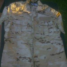 Militaria: CAMISA CAMPAÑA MANGA CORTA ARIDA PIXELADA . EJERCITO ESPAÑOL TALLA 2 NUEVA.. Lote 213672843