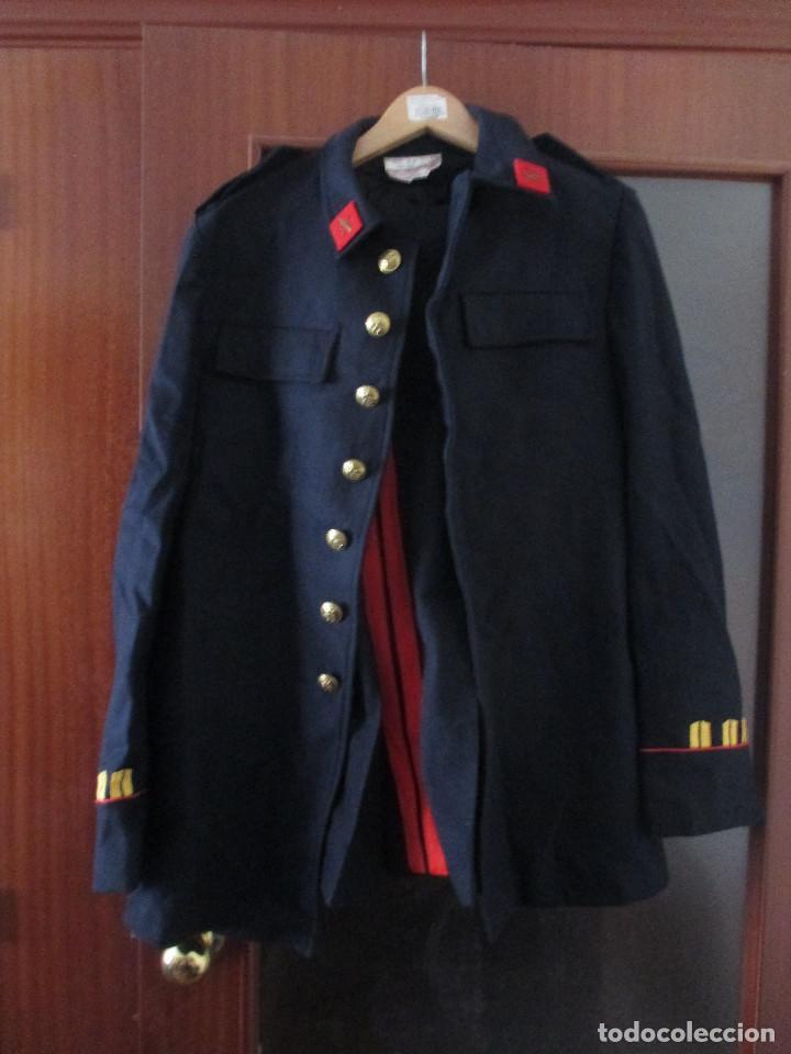 Militaria: UNIFORME DE MARINA DE LA ARMADA ESPAÑOLA AÑO 1990 ( TALLA 50) , 3 PIEZAS, PANTALON CHAQUETA Y ABRIGO - Foto 3 - 213944512