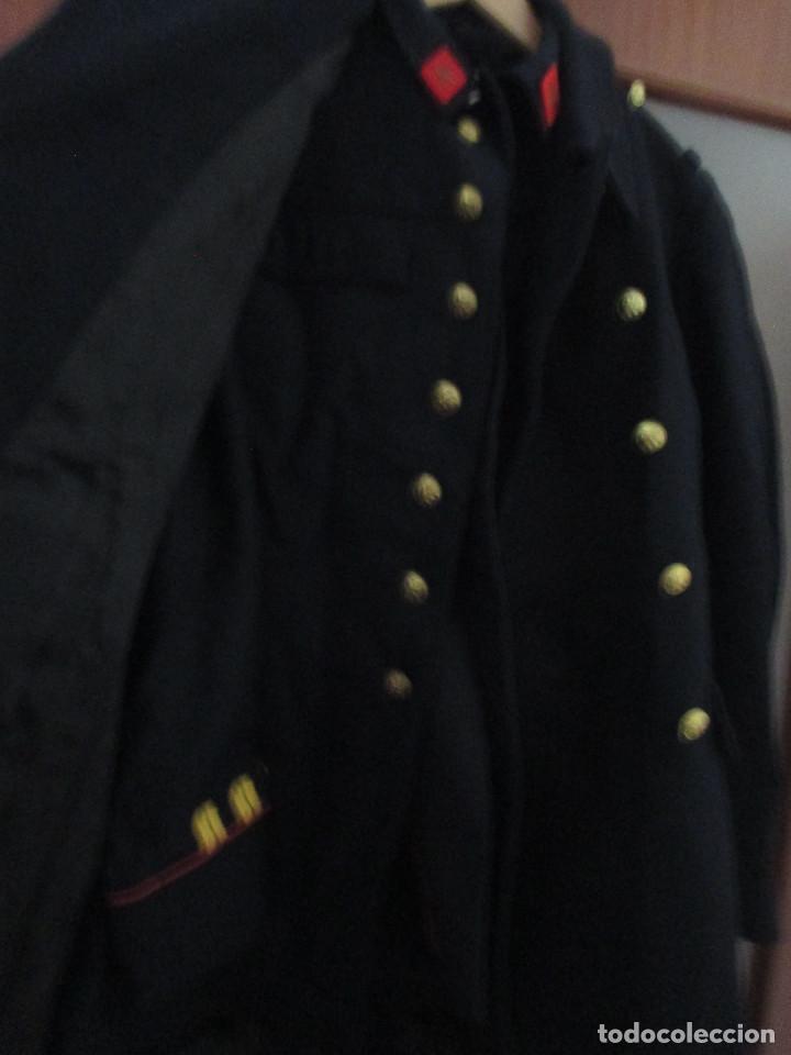 Militaria: UNIFORME DE MARINA DE LA ARMADA ESPAÑOLA AÑO 1990 ( TALLA 50) , 3 PIEZAS, PANTALON CHAQUETA Y ABRIGO - Foto 15 - 213944512
