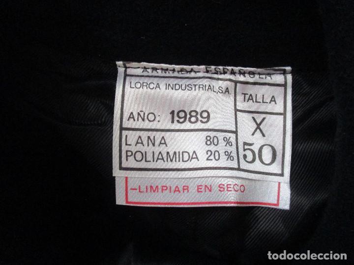 Militaria: UNIFORME DE MARINA DE LA ARMADA ESPAÑOLA AÑO 1990 ( TALLA 50) , 3 PIEZAS, PANTALON CHAQUETA Y ABRIGO - Foto 27 - 213944512