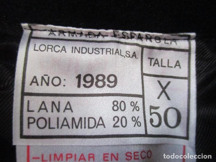 Militaria: UNIFORME DE MARINA DE LA ARMADA ESPAÑOLA AÑO 1990 ( TALLA 50) , 3 PIEZAS, PANTALON CHAQUETA Y ABRIGO - Foto 28 - 213944512