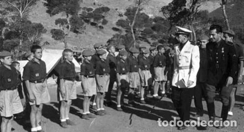 Militaria: PANTALÓN CORTO COLOR GRIS. FRENTE DE JUVENTUDES. - Foto 6 - 214355792