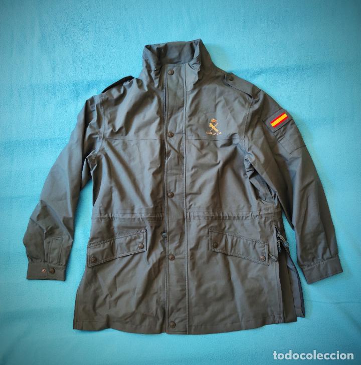 CHAQUETON TRES CUARTOS GUARDIA CIVIL ESCUDO BORDADO - ANORAK TALLA 58A (MASCULINA) - 54A (FEMENINA) (Militar - Uniformes Españoles )