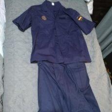 Militaria: UNIFORME POLICIA NACIONAL UIP CAMISA Y PANTALON CON SUS PARCHES. Lote 219729107