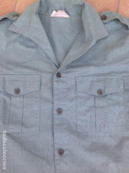 Militaria: Camisa legionaria etiqueta Fecsa año 92 - Foto 6 - 221513712