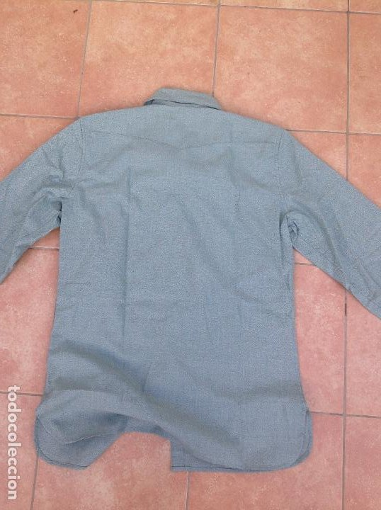 Militaria: Camisa legionaria etiqueta Fecsa año 92 - Foto 7 - 221513712