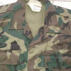 Militaria: CAMISOLA UNIFORME INFANTERÍA DE MARINA BOSCOSO AÑO 1988. Lote 221640385
