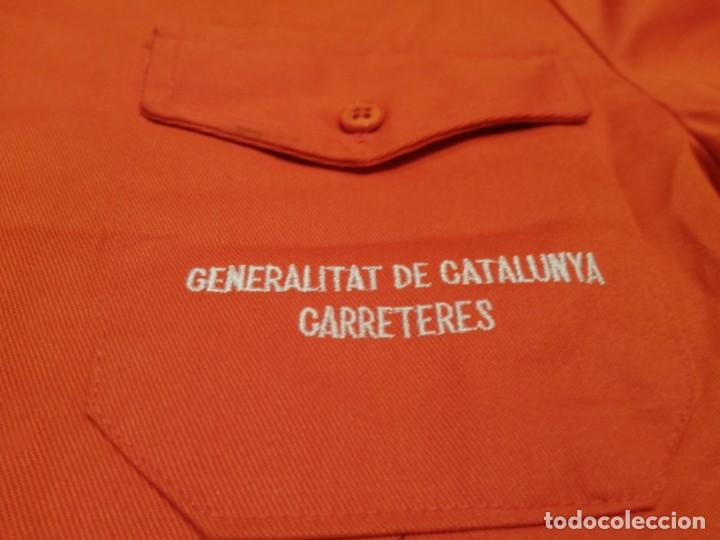GENERALITAT DE CATALUÑA. CHAQUETA TRABAJO CARRETERAS (NUEVA) EXCLUSIVA EN TC (Militar - Uniformes Españoles )