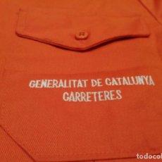 Militaria: GENERALITAT DE CATALUÑA. CHAQUETA TRABAJO CARRETERAS (NUEVA) EXCLUSIVA EN TC. Lote 222292663