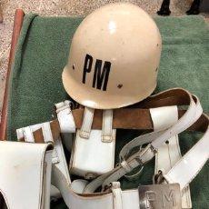 Militaria: POLICIA MILITAR E.T. LOTE AÑOS 70.. Lote 222562605