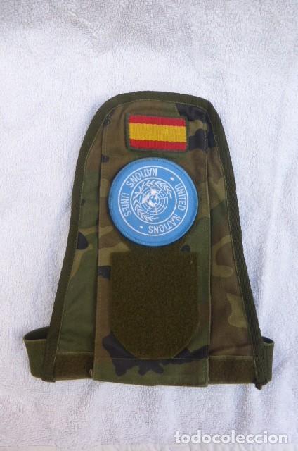 INDICATIVO DE NACIONES UNIDAS..FUERZA DE PAZ. ONU..MISIONES INTERNACIONALES. ESPAÑA.. (Militar - Uniformes Españoles )
