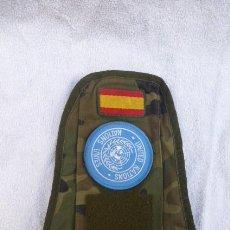 Militaria: INDICATIVO DE NACIONES UNIDAS..FUERZA DE PAZ. ONU..MISIONES INTERNACIONALES. ESPAÑA... Lote 224470616