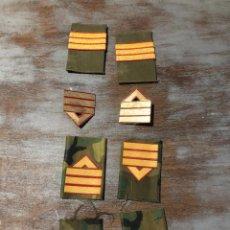 Militaria: GALONES MILITAR METAL Y TELA. Lote 224902046