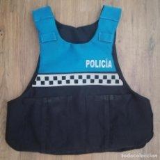 Militaria: FUNDA CHALECO ANTIBALAS, POLICÍA LOCAL (TALLA L + XL). Lote 225520826