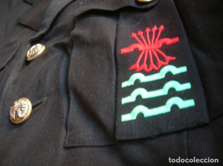 ANTIGUA GUERRERA DE ALTO JERARCA FALANGISTA. MOVIMIENTO NACIONAL. FALANGE ESPAÑOLA DE LA JONS. (Militar - Uniformes Españoles )