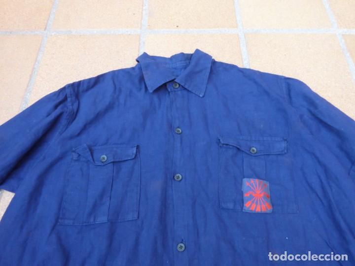 Militaria: Camisa azul falangista. OJE - Foto 4 - 226113445
