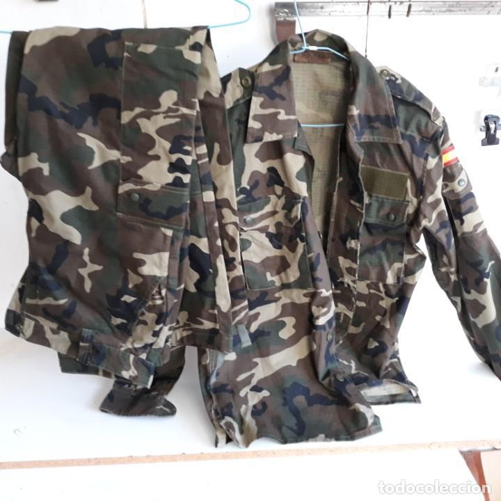 UNIFORME MIMETIZADO FUERZAS ARMADAS, TALLA 2N.CAMISOLA Y PANTALON (Militar - Uniformes Españoles )