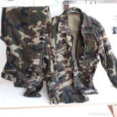Militaria: UNIFORME MIMETIZADO FUERZAS ARMADAS, TALLA 2N.CAMISOLA Y PANTALON. Lote 251872840