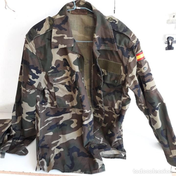 Militaria: Uniforme mimetizado fuerzas armadas, talla 2N.Camisola y pantalon - Foto 2 - 251872840