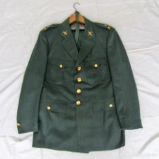Militaria: UNIFORME (CHAQUETA + PANTALONES + CORBATA) CAPITÁN GUARDIA CIVIL. Lote 230766680