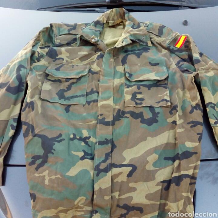 Militaria: cAMISOLA UNIFORME DE CAMPAÑA EJERCITO TIERRA LEGION AÑO 1994 MUY NUEVA - Foto 3 - 231931710