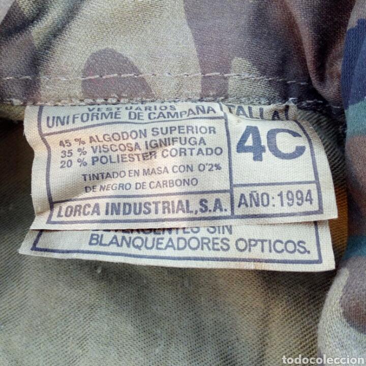 Militaria: cAMISOLA UNIFORME DE CAMPAÑA EJERCITO TIERRA LEGION AÑO 1994 MUY NUEVA - Foto 5 - 231931710