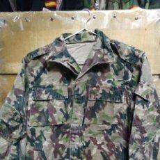 Militaria: CAMISOLA CAMUFLAJE ROCOSO COES AÑOS 80 T-M DEFECTO. Lote 232169405
