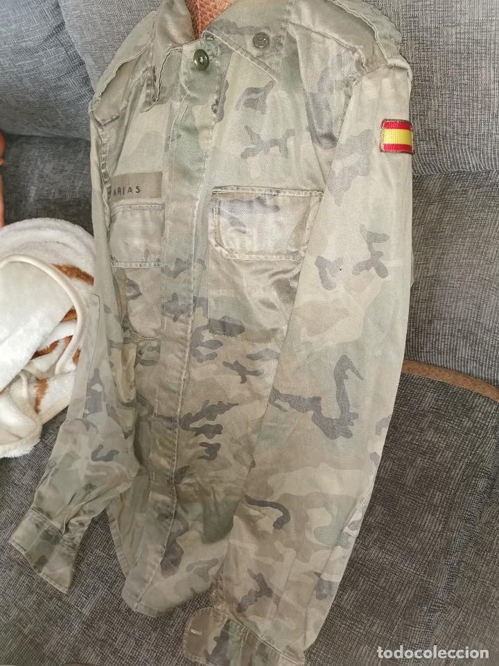 Militaria: Camisa división acorazada. Años 90 - Foto 3 - 233493155