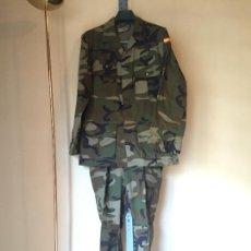 Militaria: INFANTERIA MARINA, UNIFORME WOODLAND TALLA 54 L. Lote 263089655