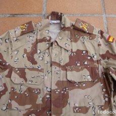 Militaria: CAMISOLA LEGIONARIA CAMUFLAJE ÁRIDO. FECSA 1990 I GUERRA DEL GOLFO LEGIÓN. Lote 236565565