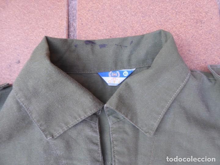 Militaria: Camisa verde oliva OTAN del ejército español. CTI Talla 41 - Foto 4 - 236990810