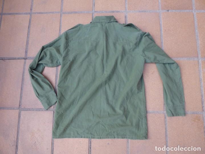 Militaria: Camisa verde oliva OTAN del ejército español. CTI Talla 41 - Foto 5 - 236990810
