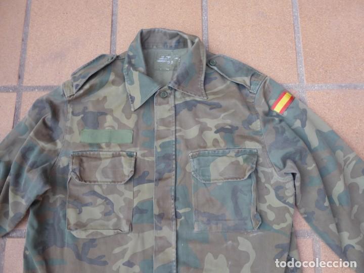 Militaria: Camisola M-82 camuflaje boscoso del ejército español. Talla 42 - Foto 2 - 236993430
