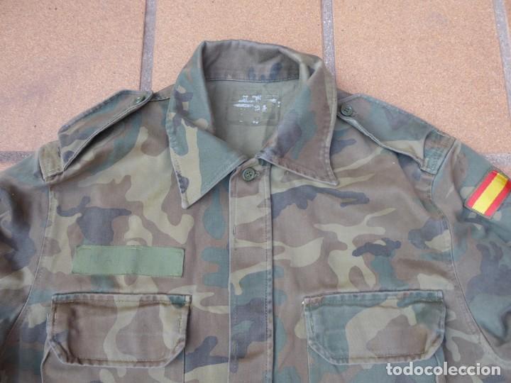 Militaria: Camisola M-82 camuflaje boscoso del ejército español. Talla 42 - Foto 3 - 236993430