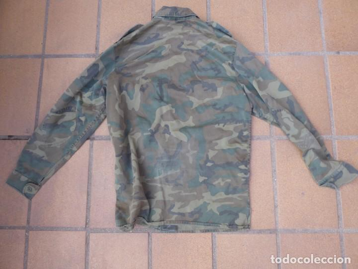 Militaria: Camisola M-82 camuflaje boscoso del ejército español. Talla 42 - Foto 4 - 236993430