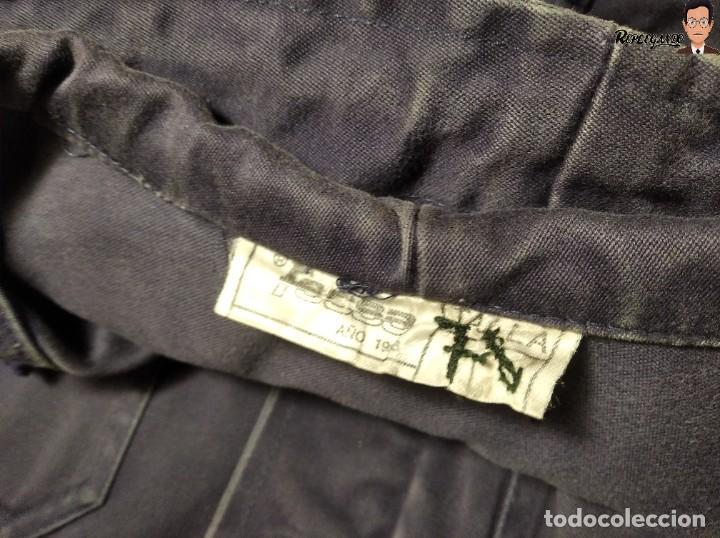 Militaria: CHAQUETA DE FAENA CON CAPUCHA DEL EJERCITO DEL AIRE ESPAÑA (COLOR AZUL) TALLA M - AVIACIÓN ESPAÑOLA - Foto 7 - 237496680