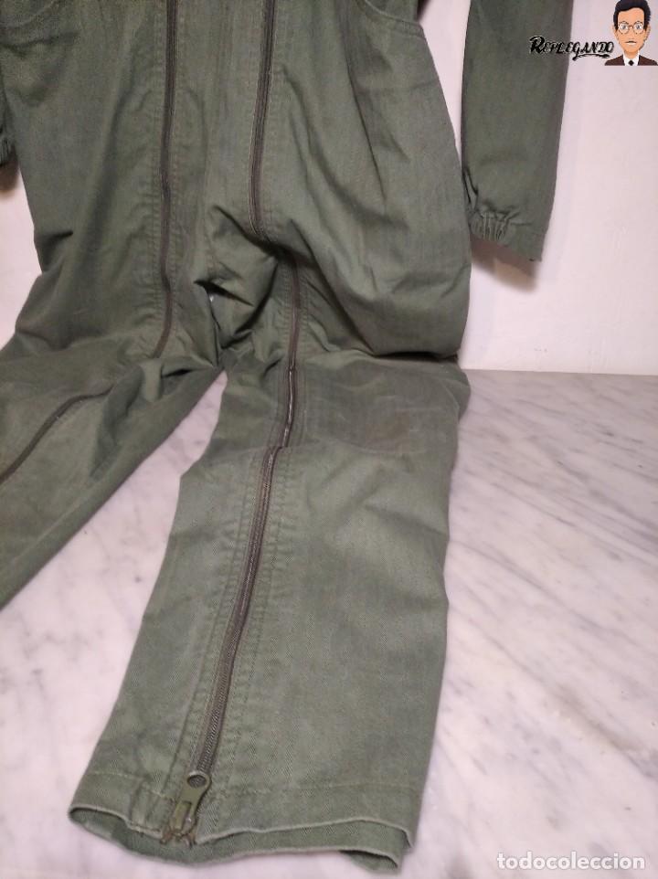 Militaria: MONO DE TRABAJO DE DOBLE CREMALLERA EJÉRCITO ESPAÑOL AÑO 2008 (COLOR VERDE CLARO) TALLA M - Foto 5 - 237497355