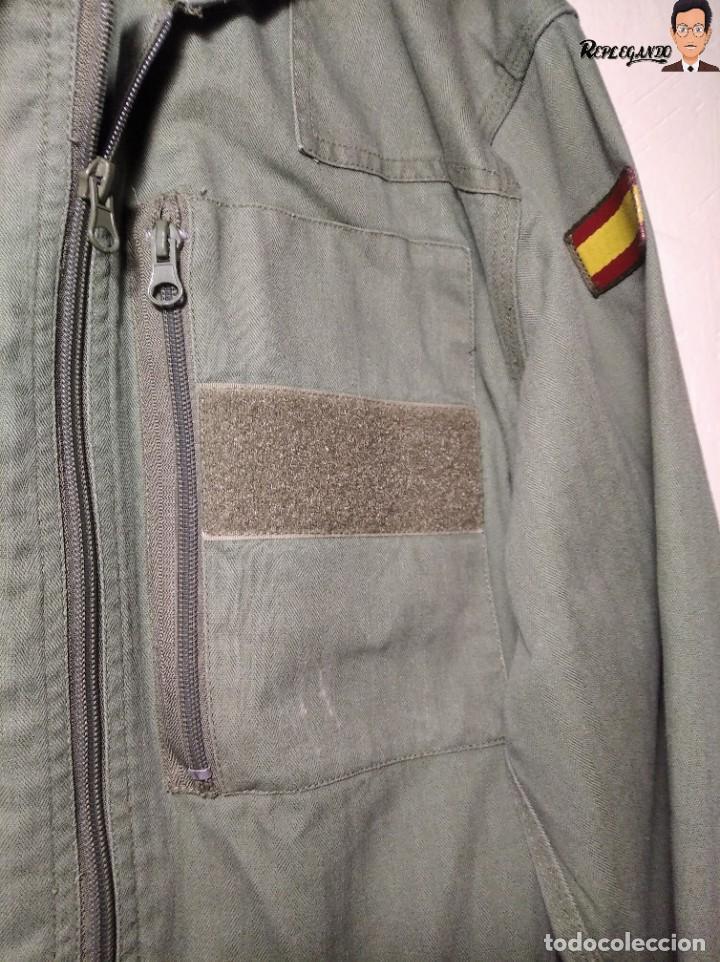 Militaria: MONO DE TRABAJO DE DOBLE CREMALLERA EJÉRCITO ESPAÑOL AÑO 2008 (COLOR VERDE CLARO) TALLA M - Foto 7 - 237497355