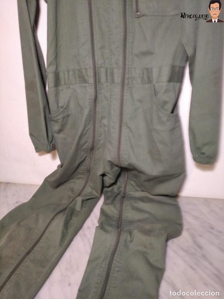 Militaria: MONO DE TRABAJO DE DOBLE CREMALLERA EJÉRCITO ESPAÑOL AÑO 2008 (COLOR VERDE CLARO) TALLA M - Foto 8 - 237497355