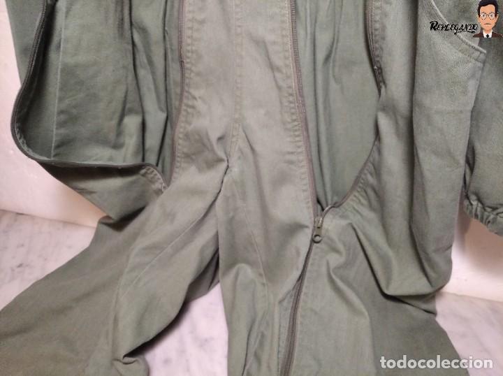 Militaria: MONO DE TRABAJO DE DOBLE CREMALLERA EJÉRCITO ESPAÑOL AÑO 2008 (COLOR VERDE CLARO) TALLA M - Foto 12 - 237497355