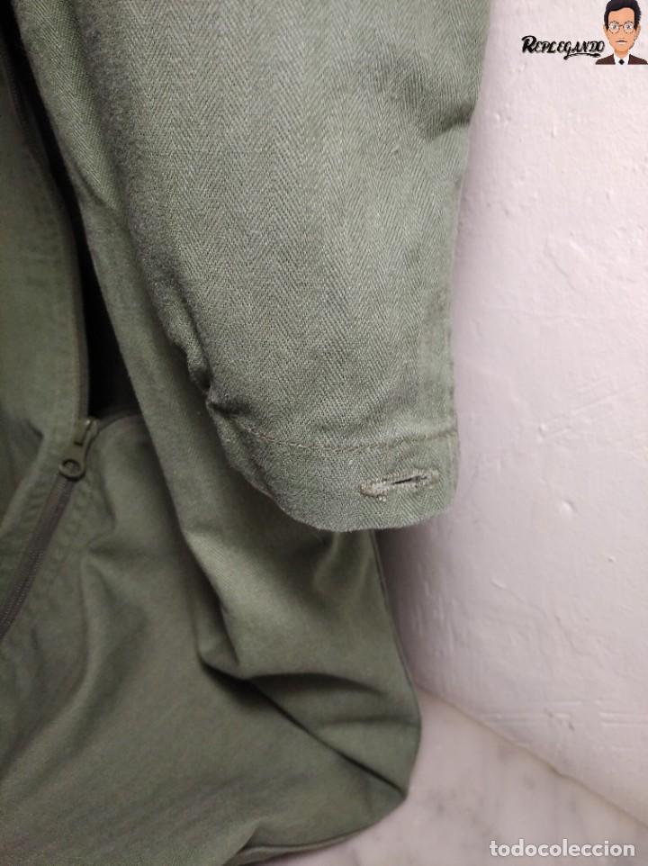 Militaria: MONO DE TRABAJO DE DOBLE CREMALLERA EJÉRCITO ESPAÑOL AÑO 2008 (COLOR VERDE CLARO) TALLA M - Foto 13 - 237497355