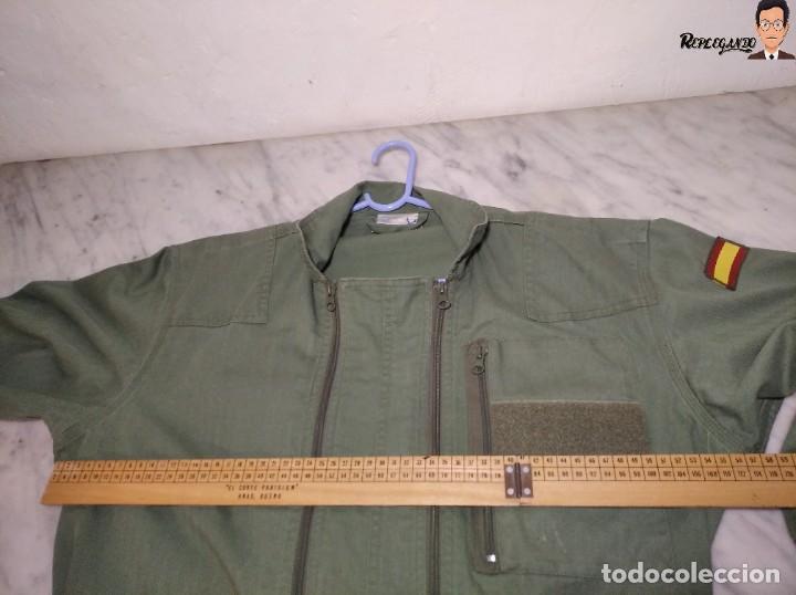 Militaria: MONO DE TRABAJO DE DOBLE CREMALLERA EJÉRCITO ESPAÑOL AÑO 2008 (COLOR VERDE CLARO) TALLA M - Foto 15 - 237497355
