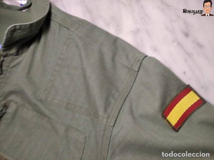 Militaria: MONO DE TRABAJO DE DOBLE CREMALLERA EJÉRCITO ESPAÑOL AÑO 2008 (COLOR VERDE CLARO) TALLA M - Foto 17 - 237497355