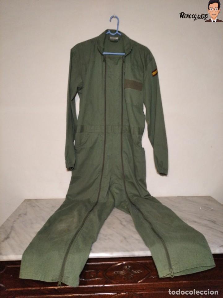 Militaria: MONO DE TRABAJO DE DOBLE CREMALLERA EJÉRCITO ESPAÑOL AÑO 2008 (COLOR VERDE CLARO) TALLA M - Foto 18 - 237497355