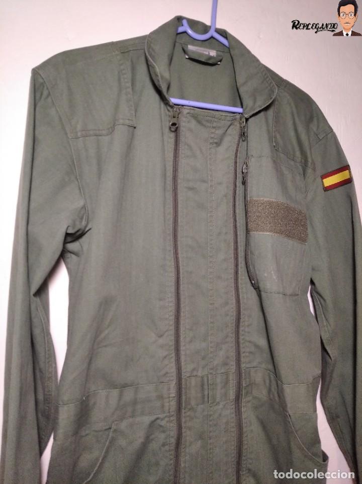 Militaria: MONO DE TRABAJO DE DOBLE CREMALLERA EJÉRCITO ESPAÑOL AÑO 2008 (COLOR VERDE CLARO) TALLA M - Foto 19 - 237497355