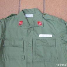 Militaria: CAMISOLA DEL EJÉRCITO DEL AIRE. M-77 VERDE MANZANA. Lote 239831990