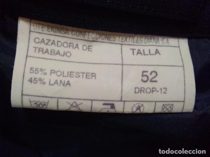 Militaria: CAZADORA DE TRABAJO EJÉRCITO DEL AIRE (A ESTRENAR Y EN SU BOLSA) TALLA 52 - Foto 2 - 240440660