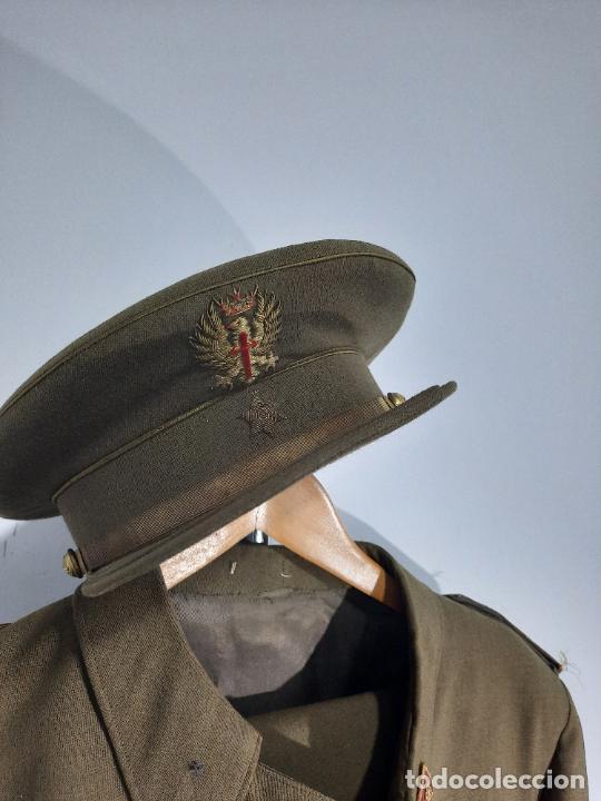 Militaria: uniforme militar español gorra,pantalon y chaqueta - Foto 3 - 242871405
